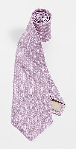 Salvatore Ferragamo - Gancini Print Tie