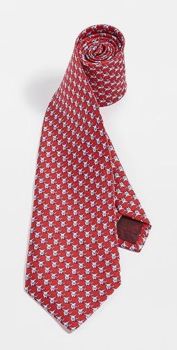 Salvatore Ferragamo - Bull Print Tie
