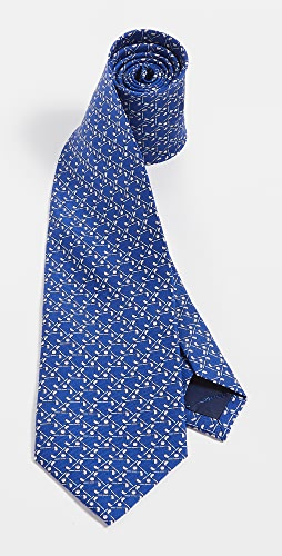 Salvatore Ferragamo - Golf Print Tie