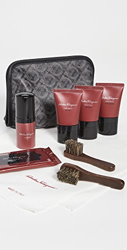 Salvatore Ferragamo - Shoe Shine Kit Travel Bag