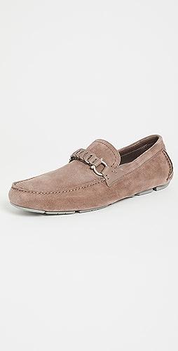 Salvatore Ferragamo - Tubolare Suede Driver Shoes