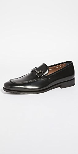 Salvatore Ferragamo - Seattle Gancini Bit Leather Loafers