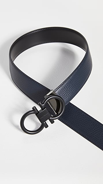 Salvatore Ferragamo Double Adjustable Belt
