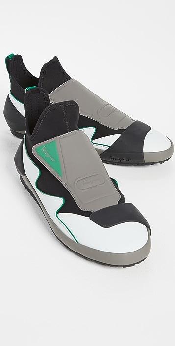 Salvatore Ferragamo Nile Sneakers