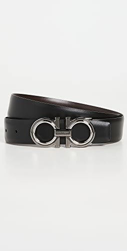 Salvatore Ferragamo - Double Adjustable Reversible belt