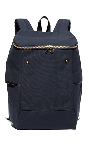Southern Field Industries Waxed Canvas Backpack