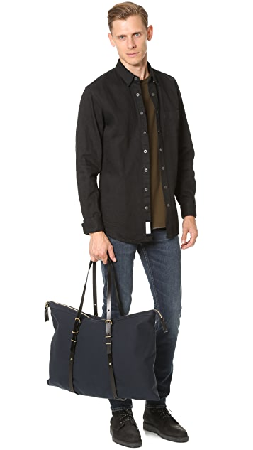 Southern Field Industries Waxed Canvas Duffel Bag