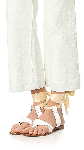 Sarah Flint Grear Lace Up Sandals