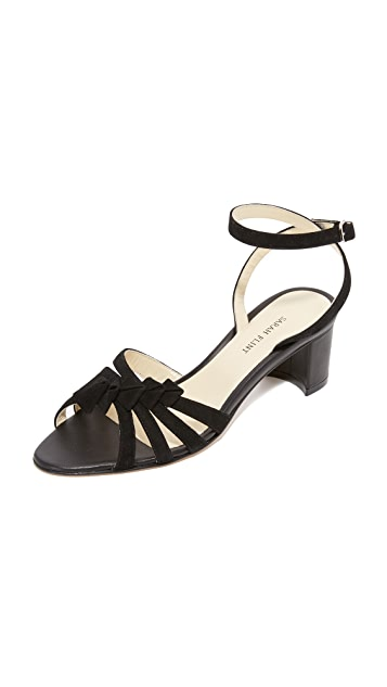 Snap Dragon sandals - Black Sarah Flint HteMBYas