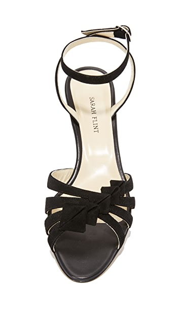 Sarah Flint Snapdragon Block Heel Sandals