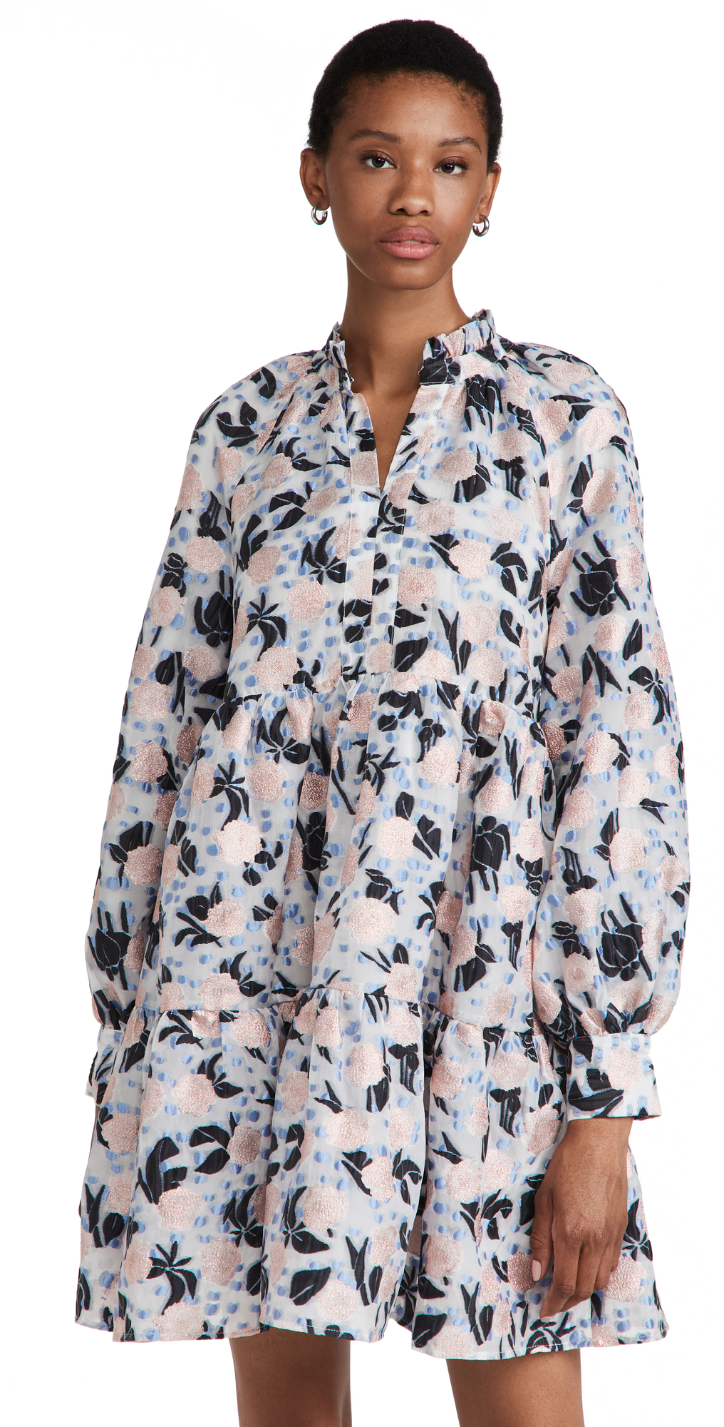 Stine Goya Jasmine Floral Organza Dress