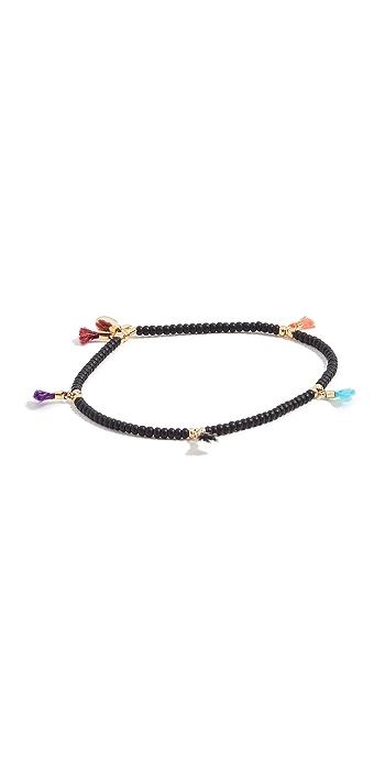Shashi Lilu Seed Bracelet - Black