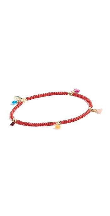 Shashi Lilu Seed Bracelet - Red