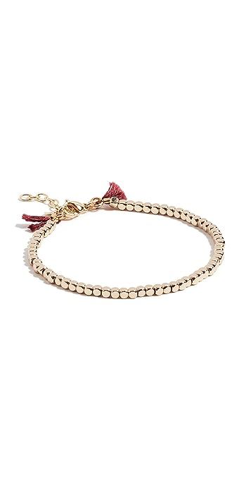 Shashi Nugget Clasp Bracelet - Yellow Gold