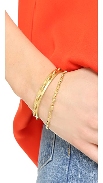 Shashi Nugget Clasp Bracelet