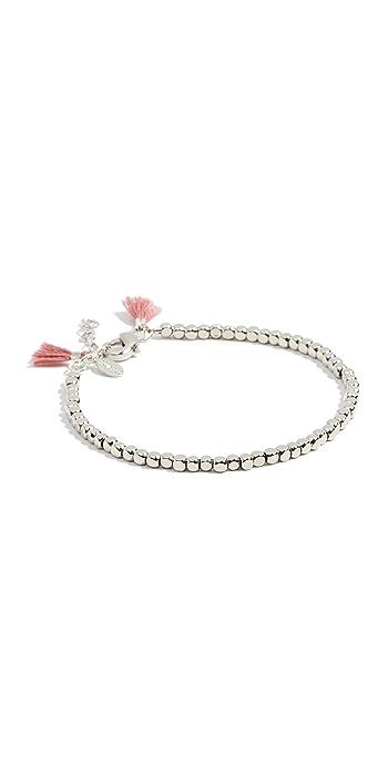 Shashi Nugget Clasp Bracelet - White Gold