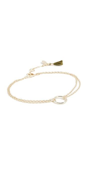 Shashi Circle Bracelet - Gold