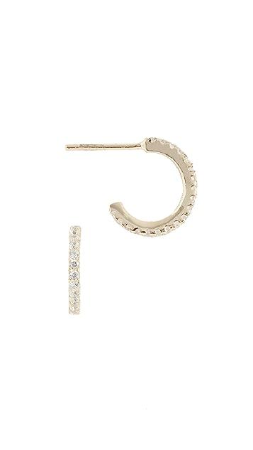 Shashi Миниатюрные серьги-кольца