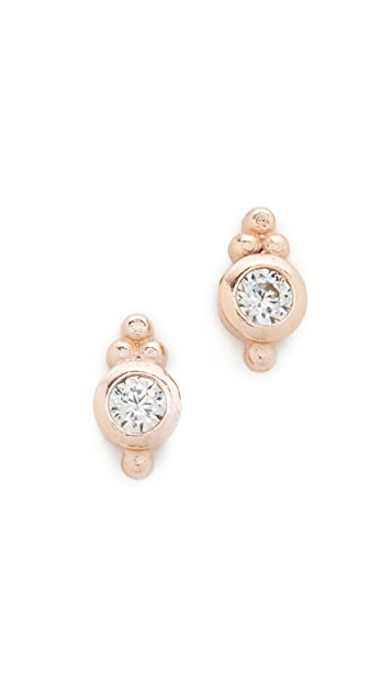 Shashi Mini Ballerina Stud Earrings