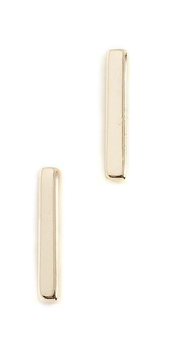 Shashi Bar Earrings - Gold