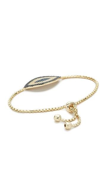 Shashi Tennis Evil Eye Bracelet