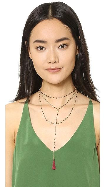 Shashi Lariat Necklace