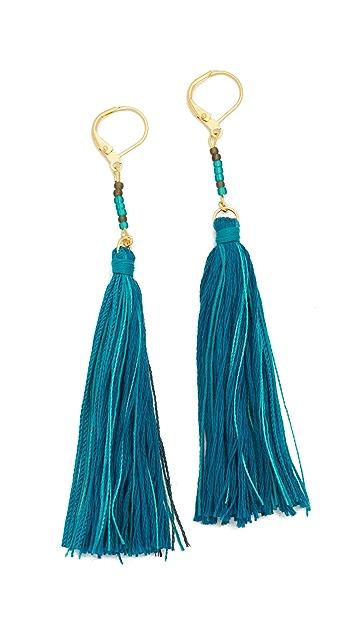 Shashi Carolina Tassel Earrings