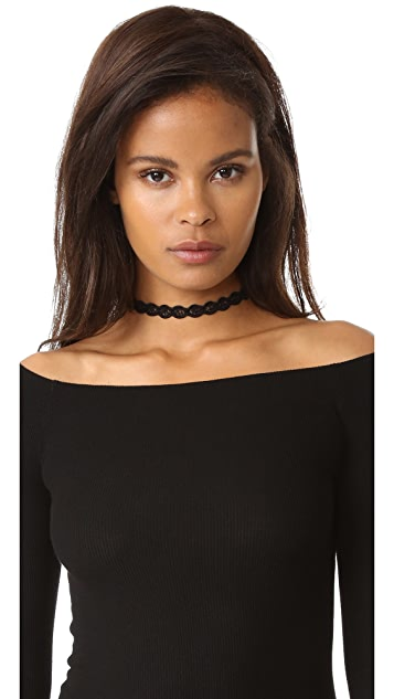 Shashi Tiffany Choker Necklace