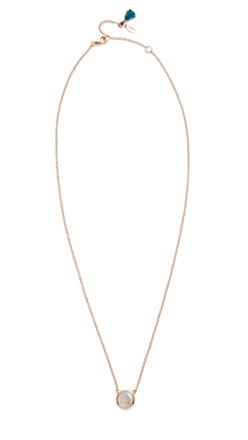 Shashi Circle Chain Necklace