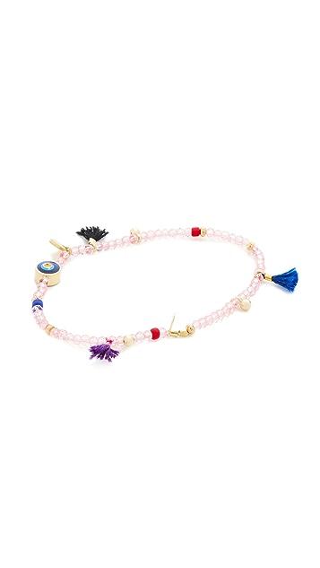 Shashi Lilu Crystal Charm Bracelet