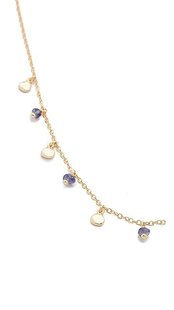 Shashi Disc Charm Necklace
