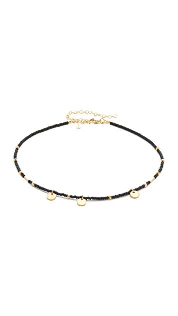 Shashi Disc Choker Necklace