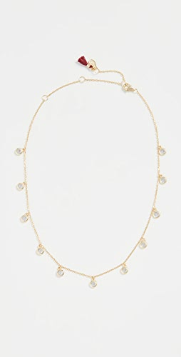 SHASHI - Solitaire Drop Choker Necklace