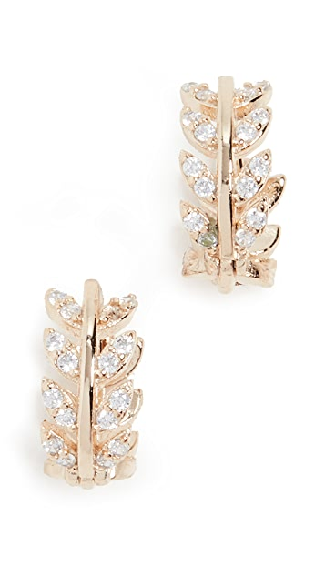 Shashi Amelia Huggie Earrings