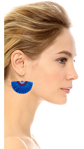 Shashi Sophie Fan Earrings