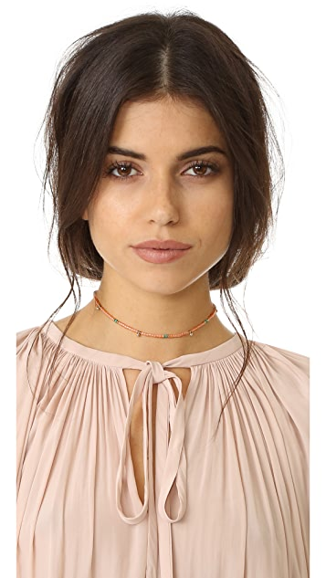 Shashi Eliza Wrap Choker Necklace