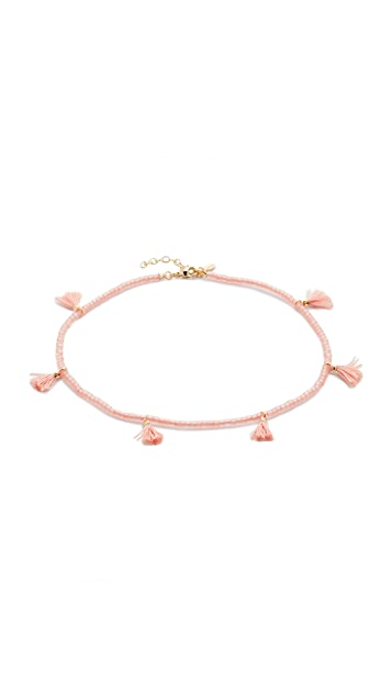 Shashi Laila Wrap Choker Necklace
