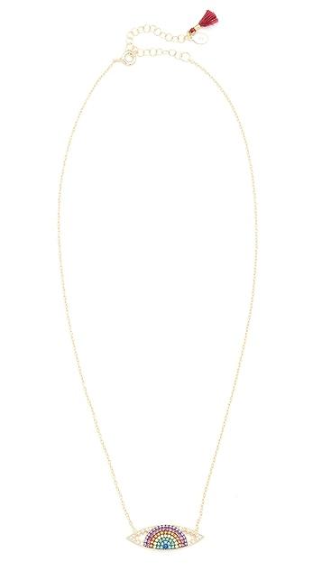 Shashi Eye Charm Necklace