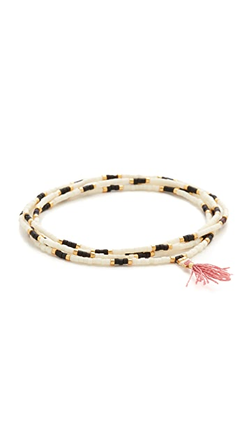 Shashi Naomi Wrap Bracelet