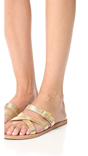 Shashi Disc Charm Anklet