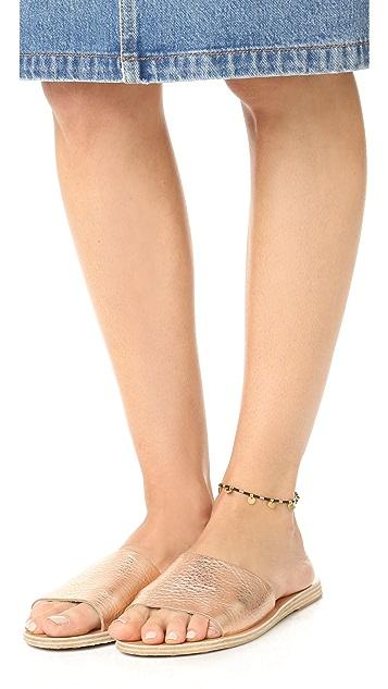 Shashi Disc Anklet