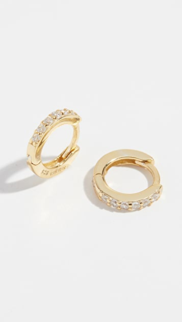 Shashi Katerina Hoop Earrings