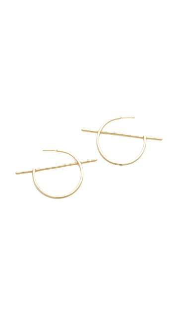 Shashi Vera Hoop Earrings