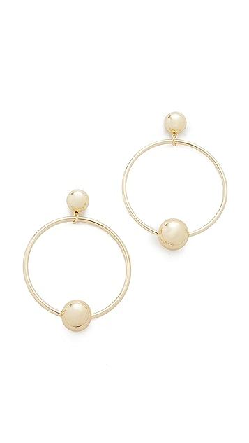 Shashi Tiffany Hoop Earrings