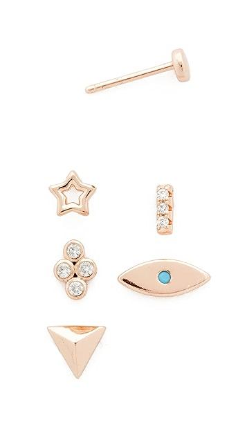 Shashi Ariel Stud Earring Set