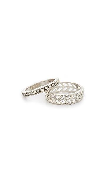 Shashi Pinky Ring Set