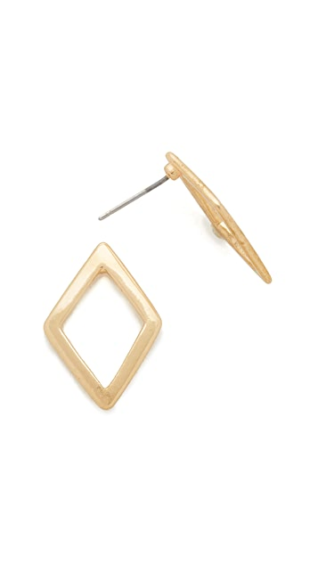 Shashi Geometric Stud Earrings