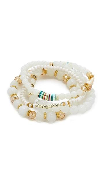 Shashi Amber Bracelet Set
