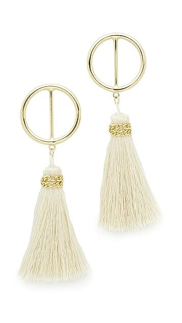 Shashi Mia Hoop Earrings
