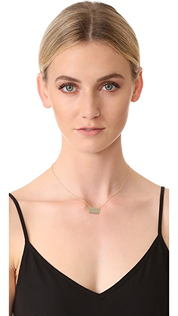 Shashi Rectangle Necklace